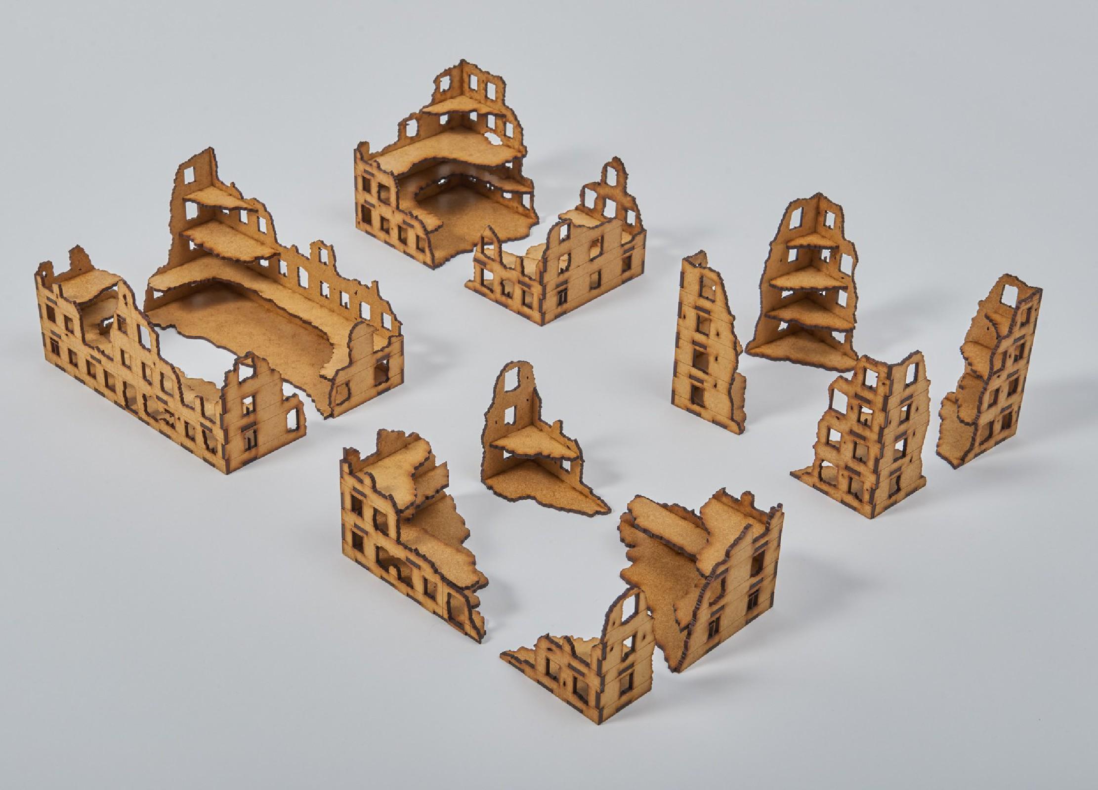 Ruins 15mm - Set II