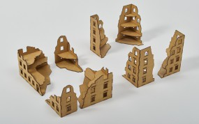 Laser Cut RUINS 28mm - Set I