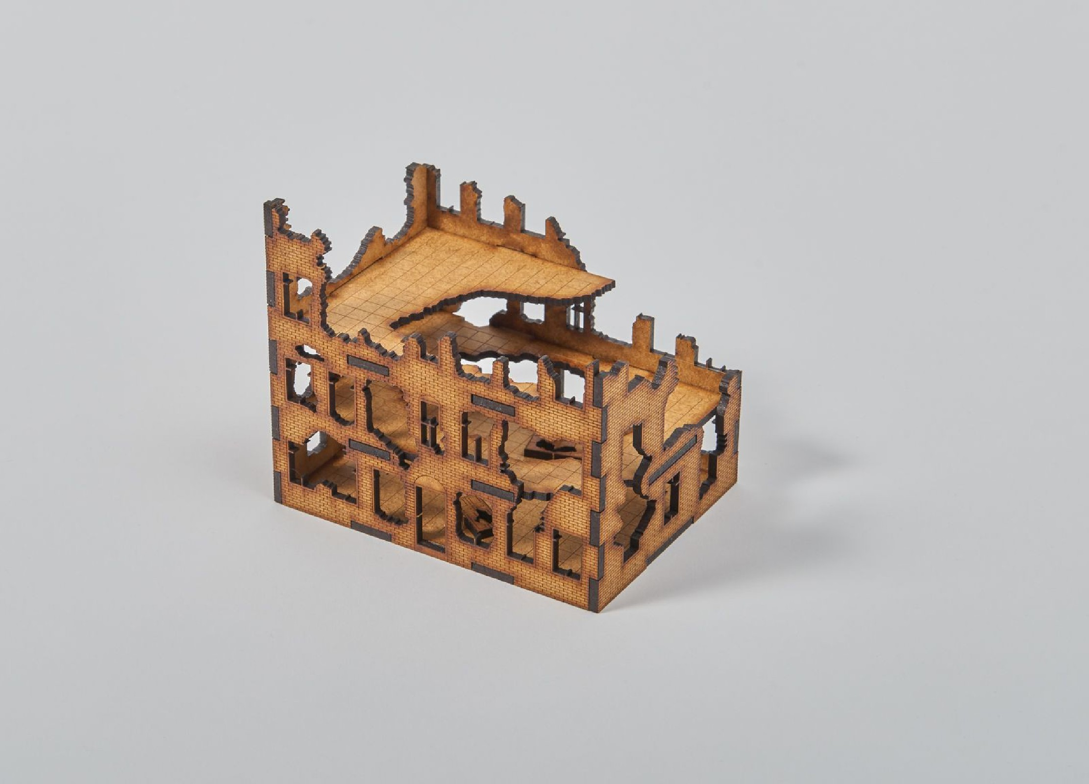 Ruined TOWNHOUSE 15 mm