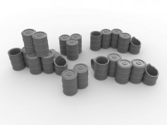 Scattered Barrel Set - 5 Pieces
