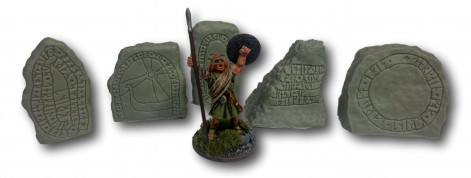 Runic Stones - Set of 5