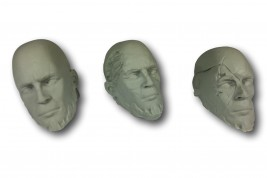 Ancient Heads - Set of 7