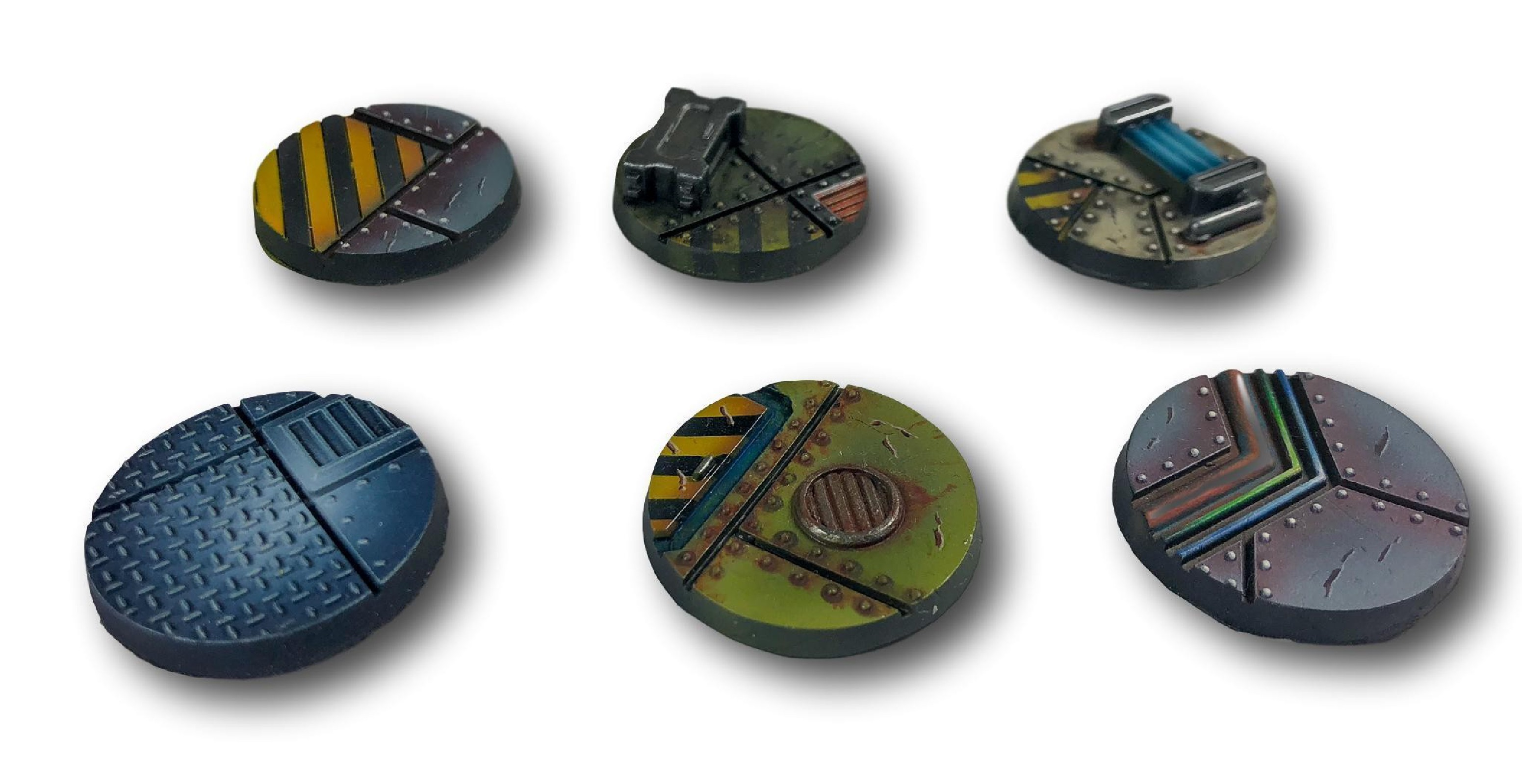 Industrial Bases - 32mm (10)