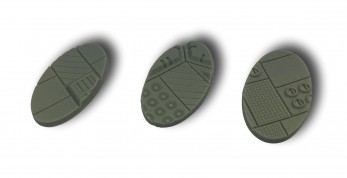 Industrial Bases - Oval 60mm (6)