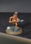 TinyBastards - Barbarian with spear