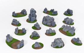 ROCKSY Standard Battlefield Set - 16 elements
