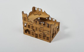 Ruined Townhouse 28mm