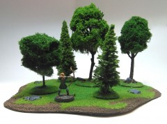 Large Mixed Forest - 5 trees