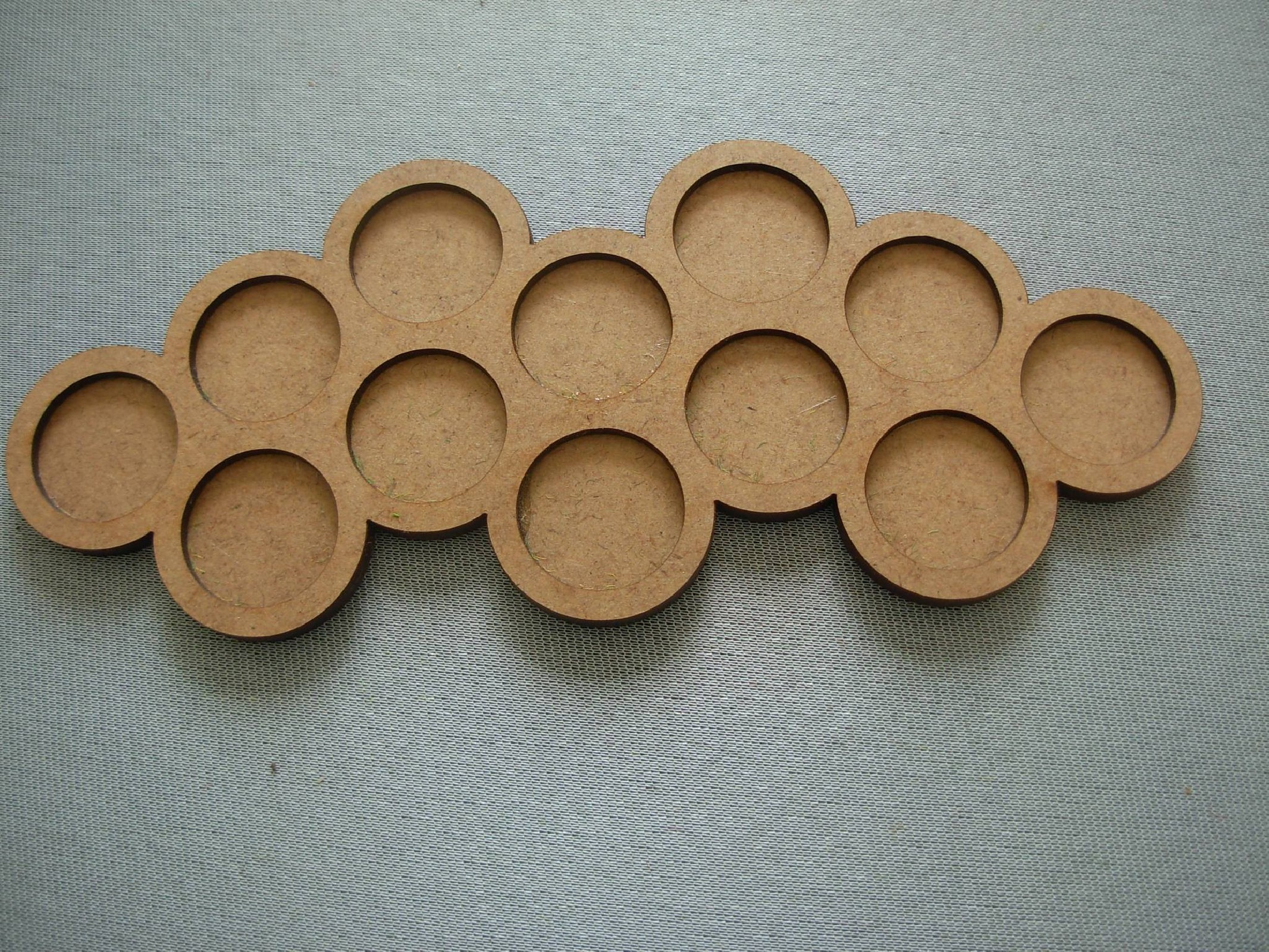 Round bases tray 12x25mm