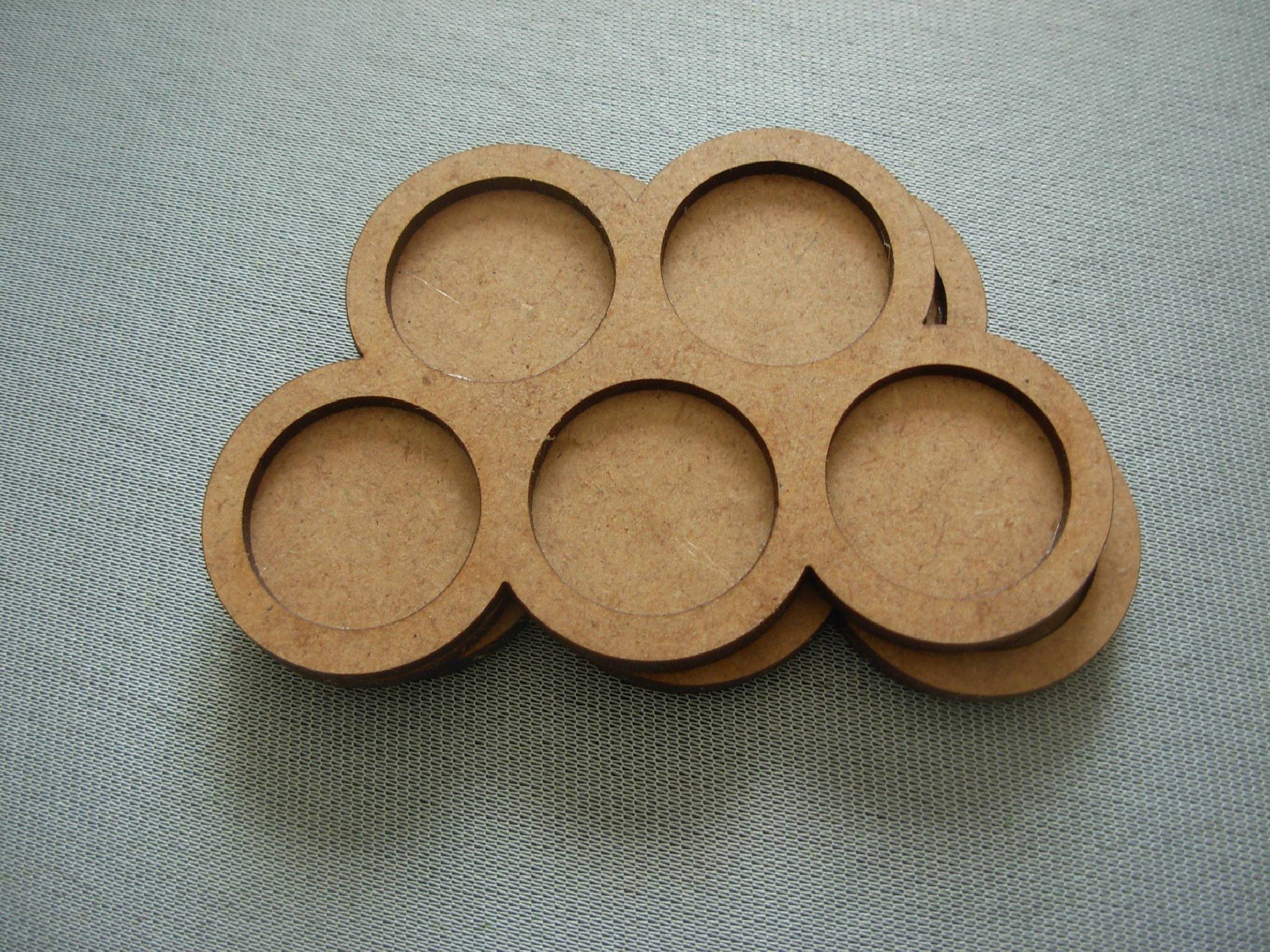 Round bases tray 5x20mm