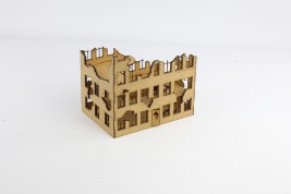Ruined TOWNHOUSE  28 mm - 2nd Generation