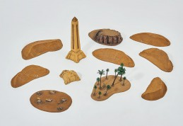 Ancient Desert Landscape - 11 items