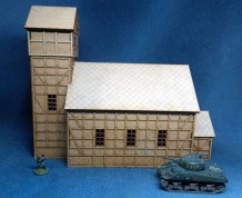 Church 28mm - assembled