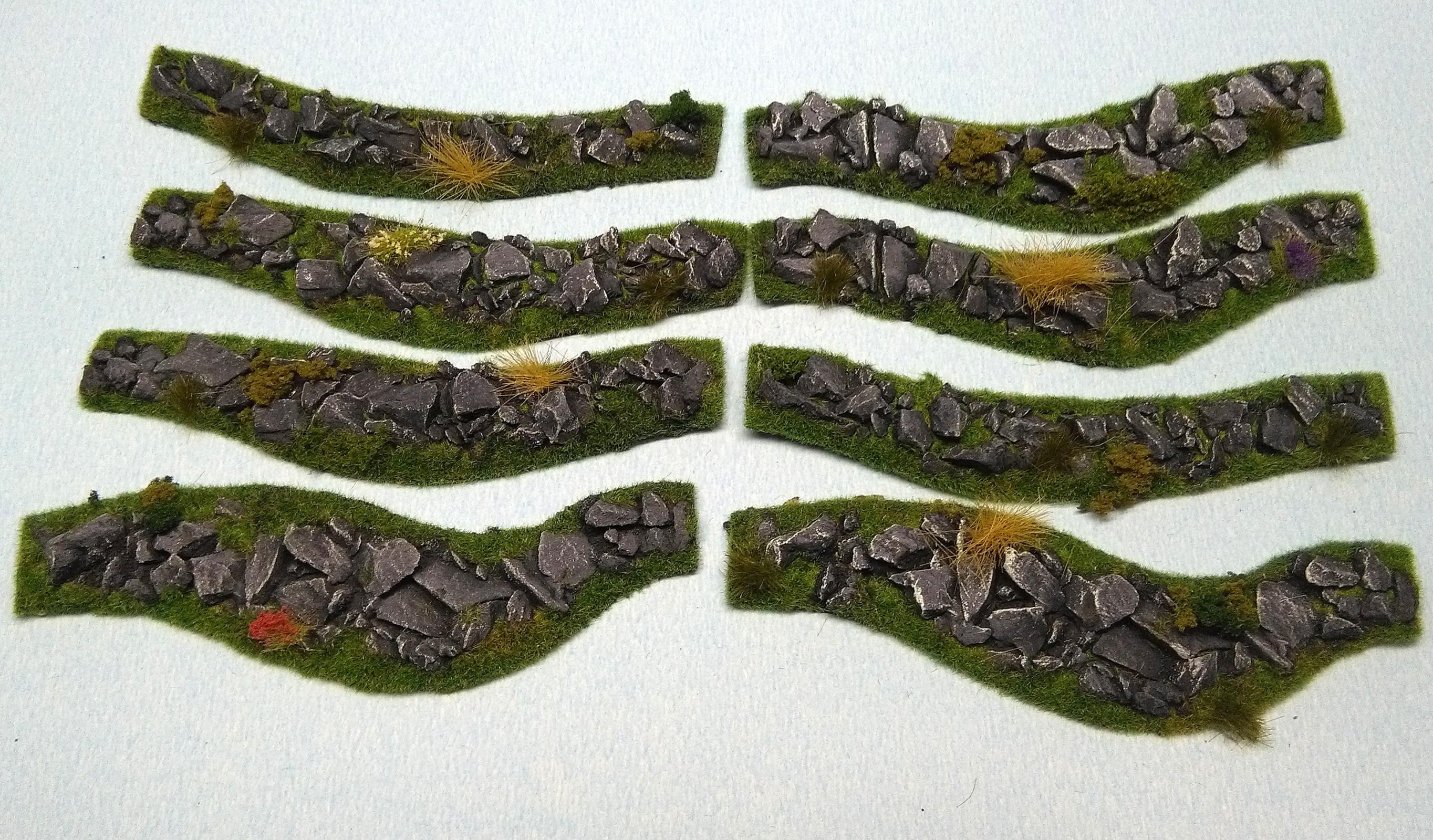 Stone Hedges set - 8 pieces