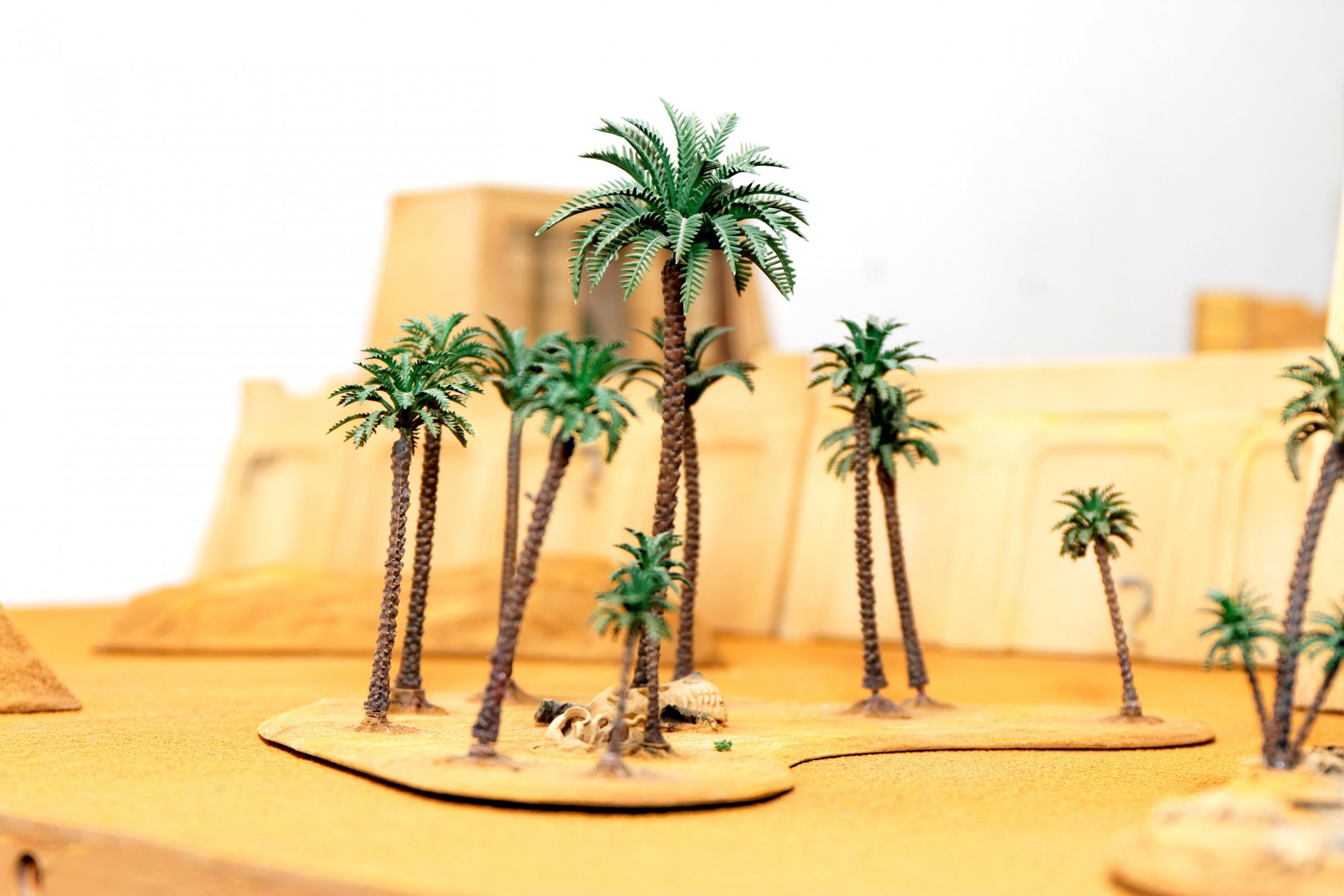 Temple Complex: DESERT Scenery Set
