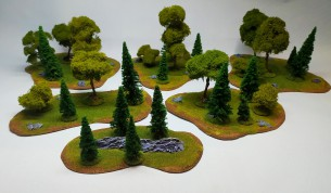 Mixed FOREST Set - 25 trees