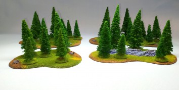 New Coniferous FOREST Set - 26 trees