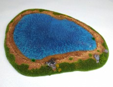 Lake - 28mm deluxe (with water effect)
