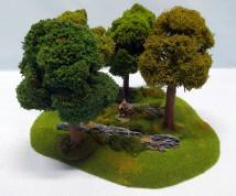 Summertime FOREST - 4 trees