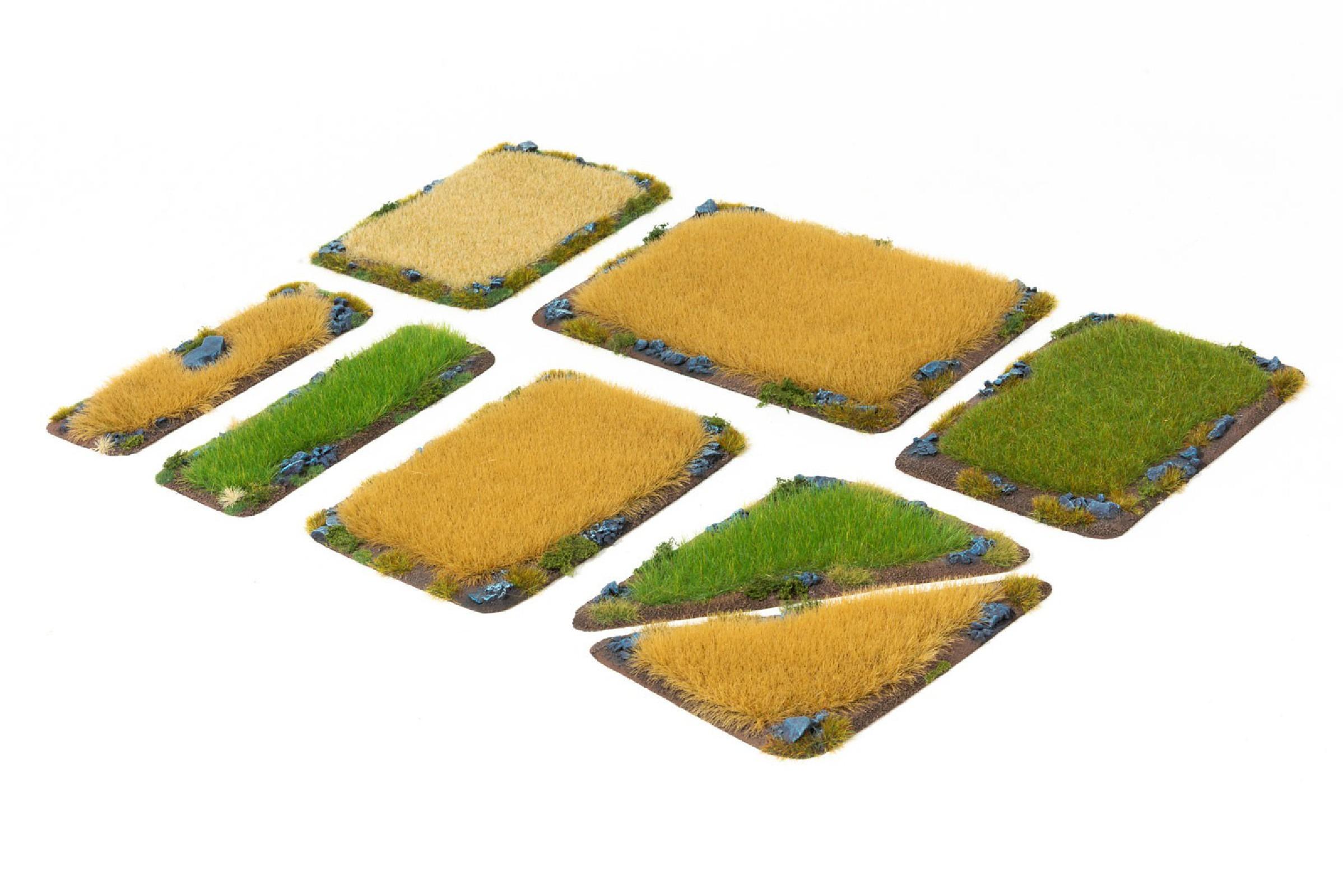 FARM FIELDS Set - 8 elements painted