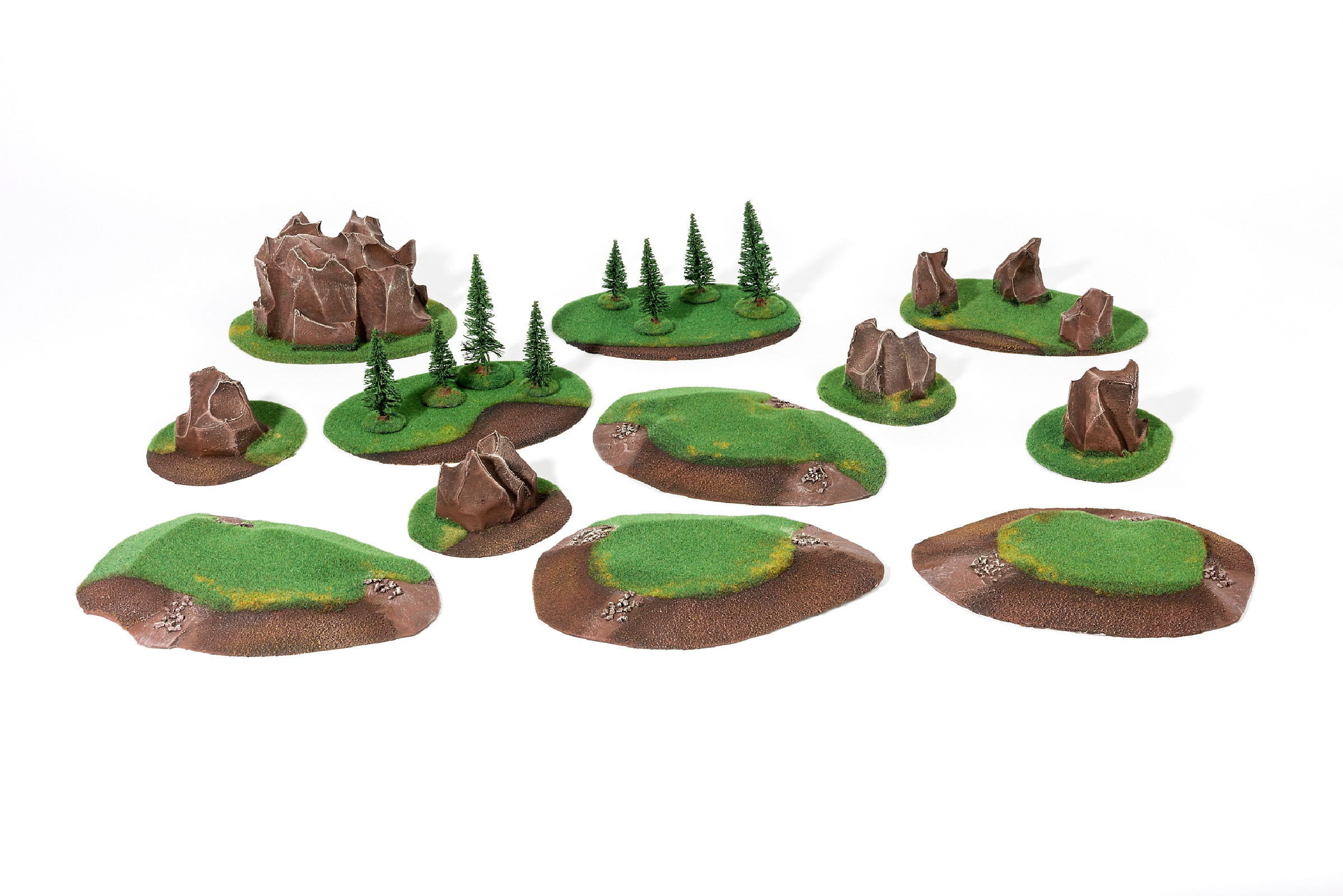 UNIVERSAL Basic terrain Set - 12 elements