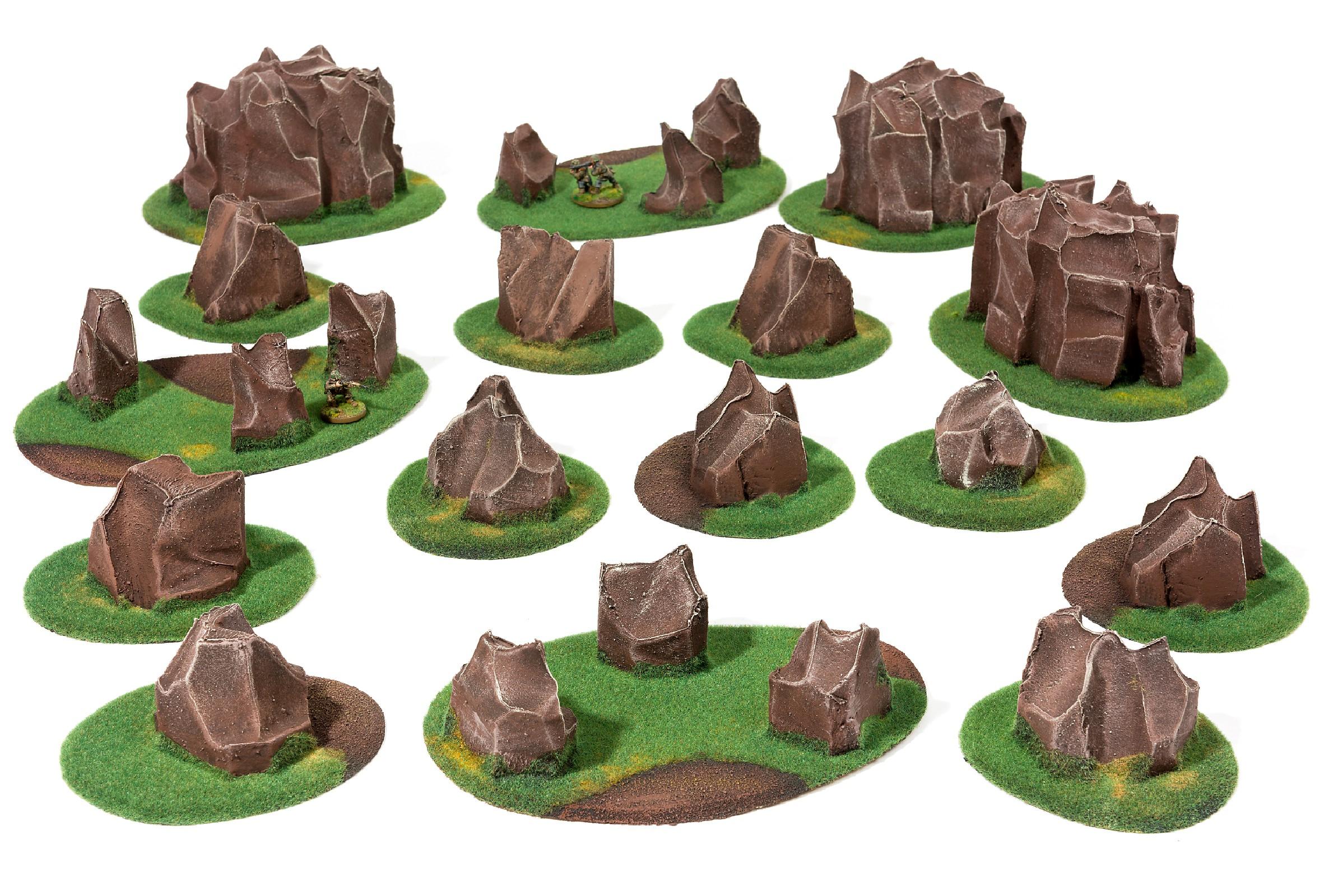 ROCKSY Basic terrain Set - 16 elements