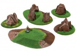 STARTER Basic Terrain Set - 5 elements