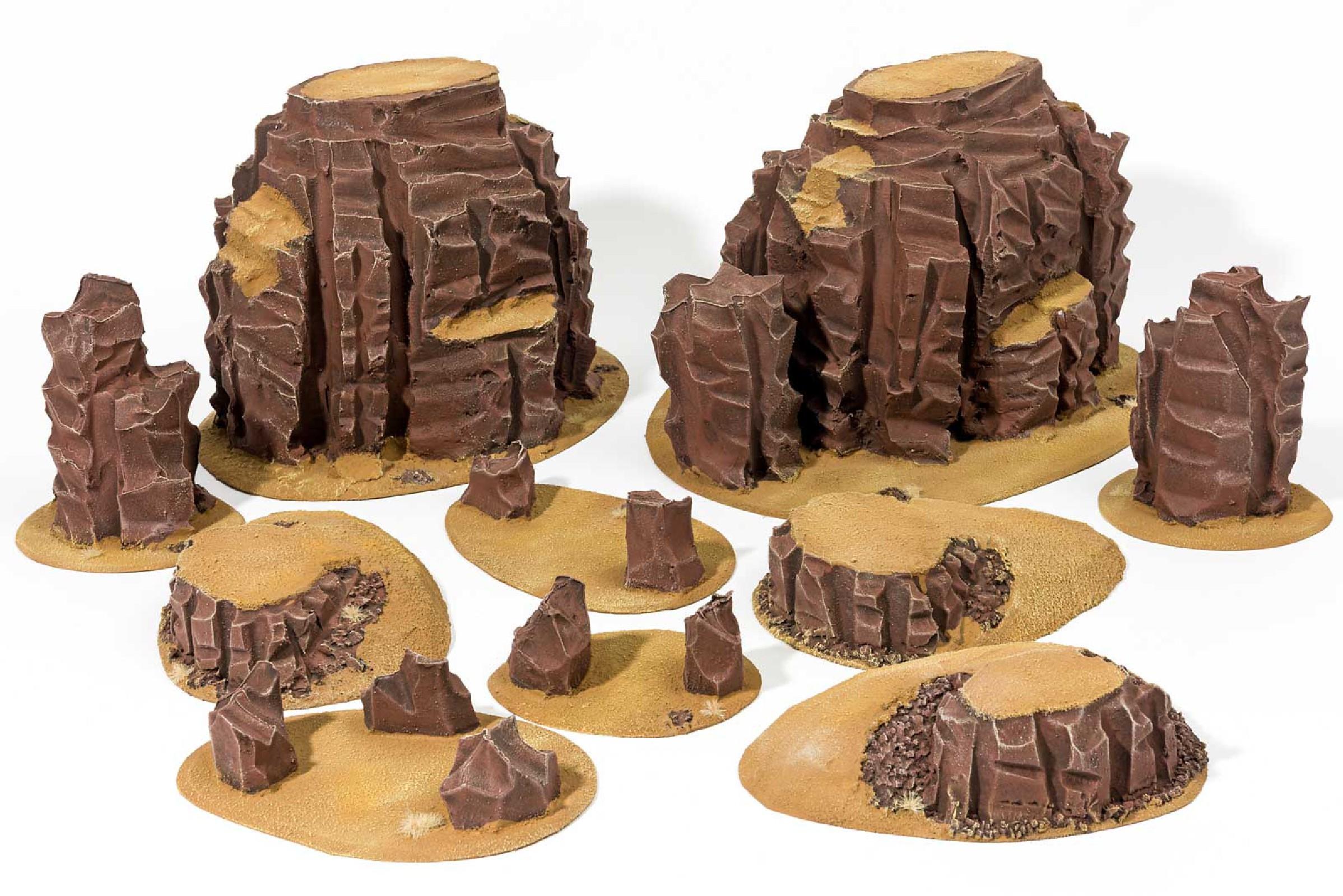 Desert terrains set