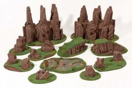 WARLIKE SUMMER Apocalyptic terrain set