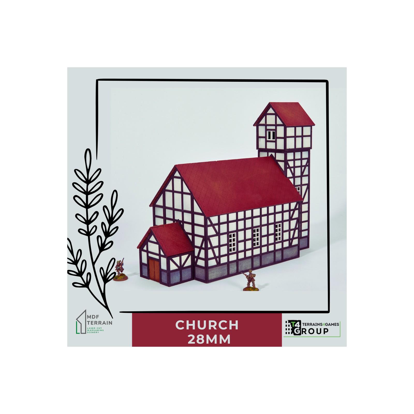 Village CHURCH 28mm