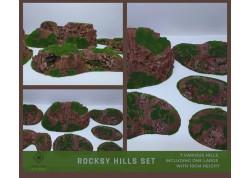 ROCKSY HILLS Set - 7 items