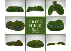 GREEN HILLS Set - 7 items