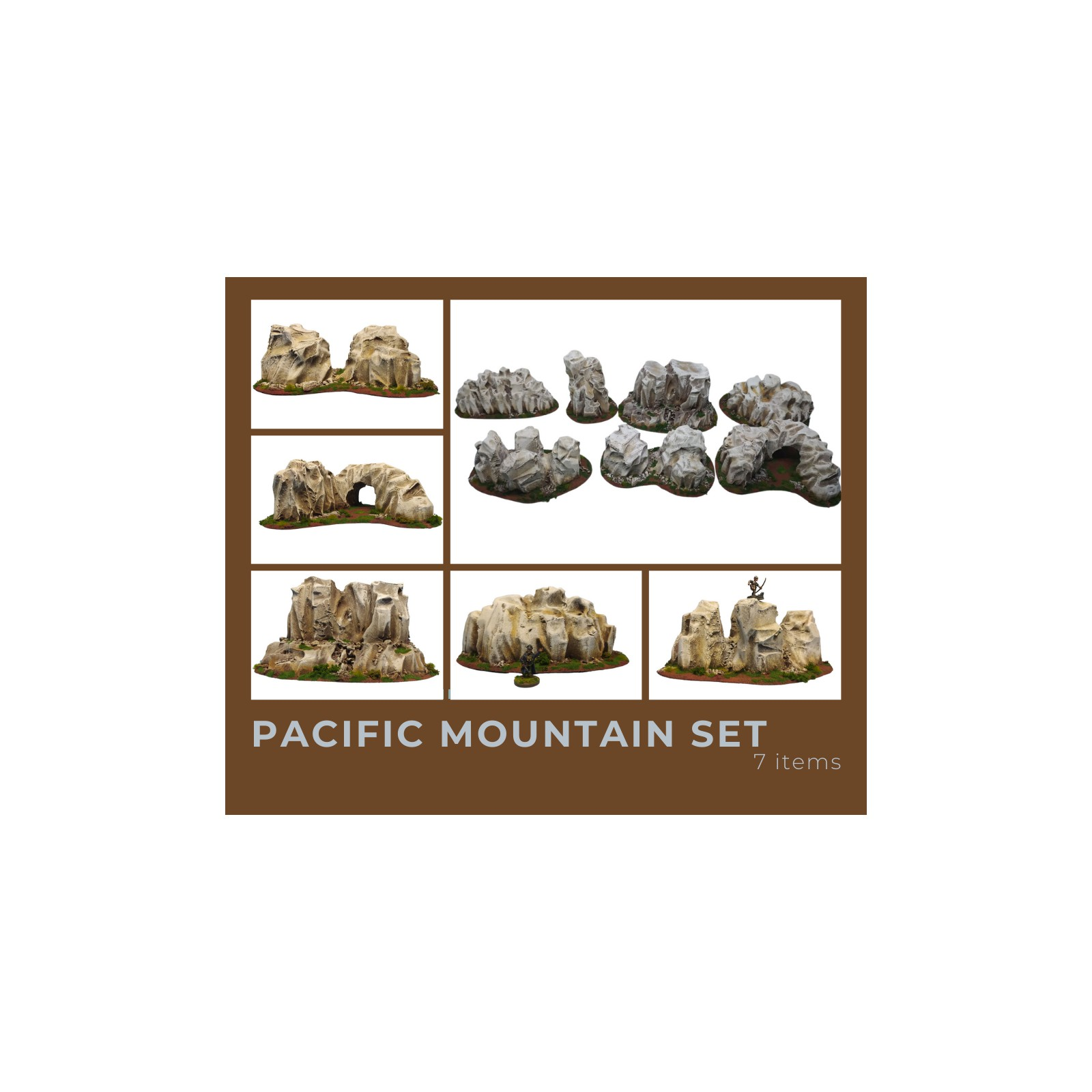 PACIFIC Mountains Set