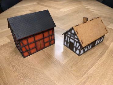 Wargaming MDF building review, with photos